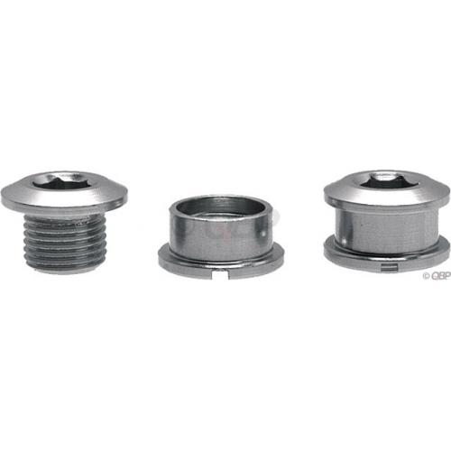 PS Sngl 6mm Cring bolts alloy Sil set/5