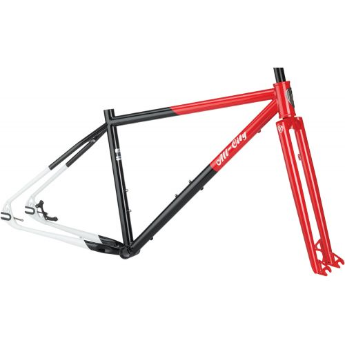 All-City Log Lady Frame Red/Blk/Wht