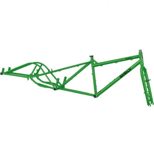 Surly Big Dummy cadre green