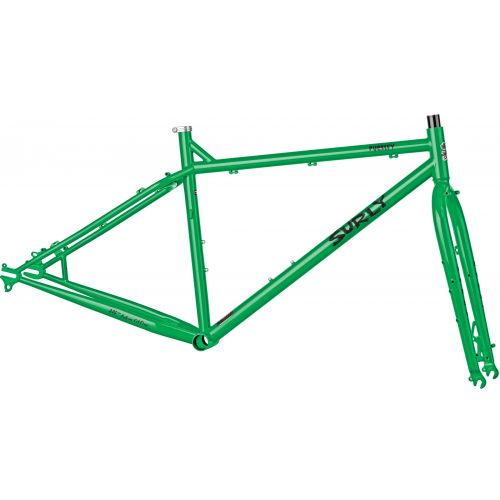 Surly Pugsley cadre Pure Green
