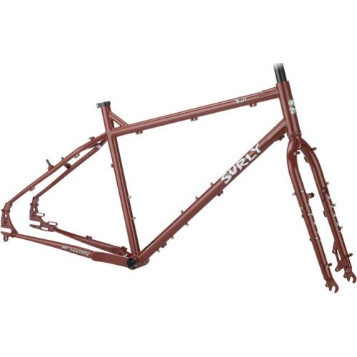 Surly Troll 26'' cadre Get Gone Maroon