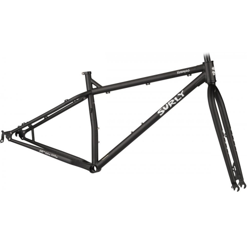 Surly Krampus cadre Flat Black