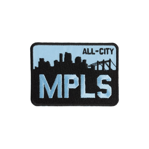 All-City MPLS Patch Black/Blue