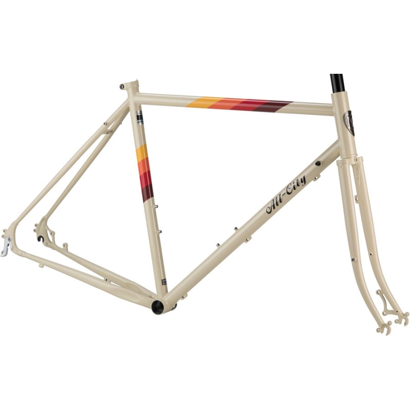 ALL-CITY kit cadre Space Horse cream 2019