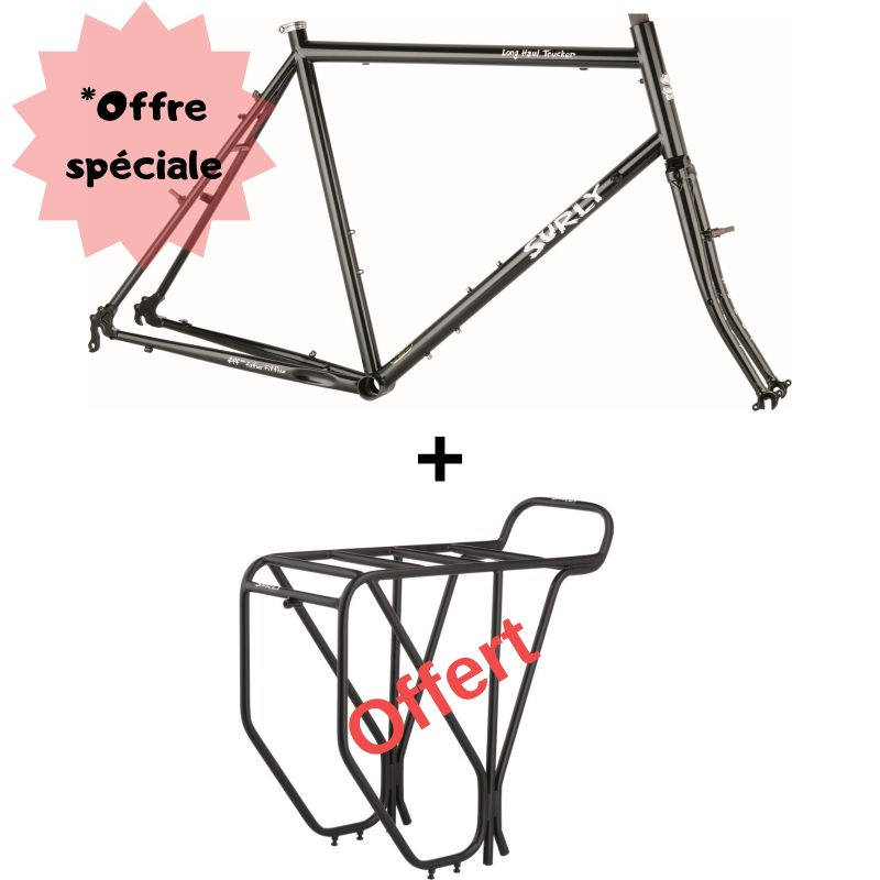 "Surly offre kit cadre Long Haul Trucker 26"" + porte bagages Surly"