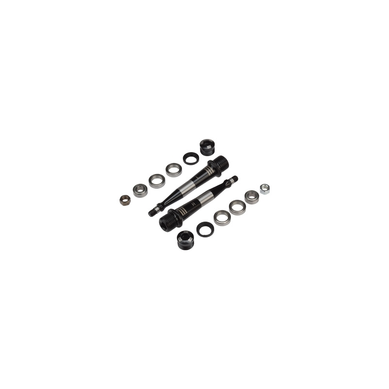 Pedal iSSi Triple Spindle Rebuild Kit, Black
