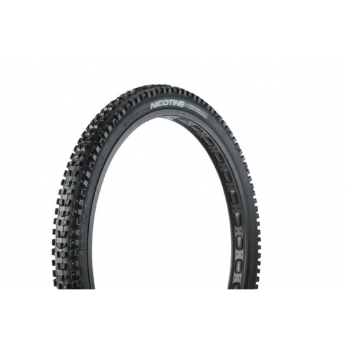 45NRTH Nicotine 29x2.3 Studded Tire - 120tpi  Folding (222 Concave Carbide Studs)