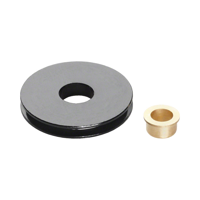 P/S Cable Pulley Alum Black