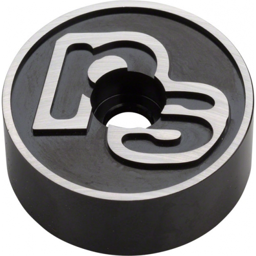 PS Pog TopCap and 10mm spacer BLK w/logo