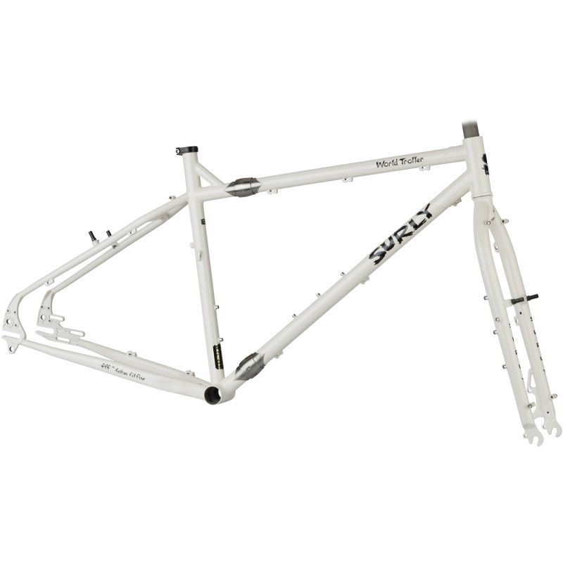 Surly World Troller Frameset - Vanille