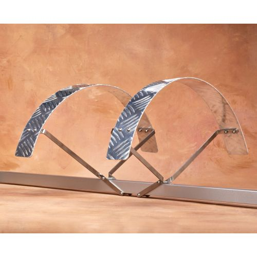 """Heavy Duty Mudguard Set - For 20""""  Y large - alloy fenders and stainless steel stays"""