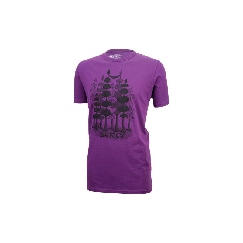 T-Shirt Sacked Tee Surly Purple