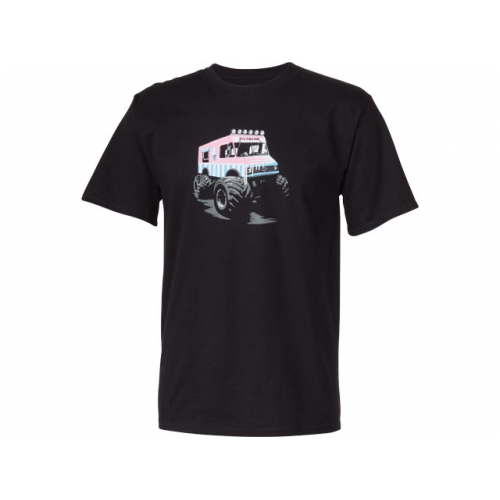 T-shirt Ice Cream Truck Surly Noir