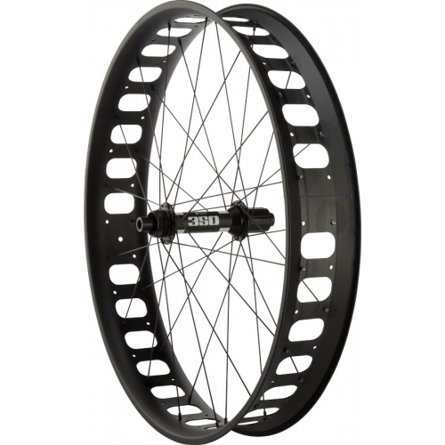 "Surly roue arrière 26"" DT 350 197mm x 12mm / Surly Clown Shoe / DT Competition"
