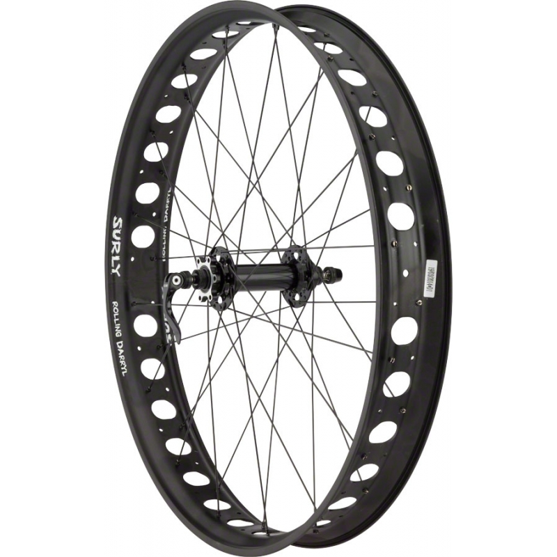"""Surly roue avant 26"""" Novatec D201 / Surly Rolling Darryl 150mm QR and 15mm Convertible"""