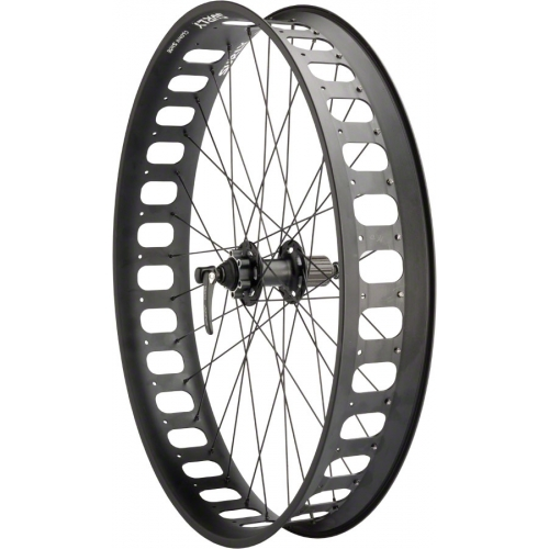 Surly roue arrière Novatec D102 / Surly Rolling Darryl 190mm QR and 197mm x 12mm Convertible