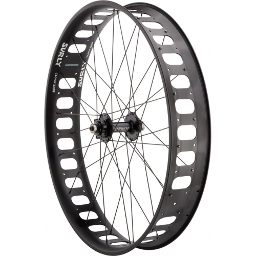 "Surly roue avant 26""  135mm Disc / Clown Shoe Zero Offset"
