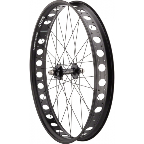 "Surly roue avant 26"" 135mm Disc / Rolling Darryl Zero Offset"